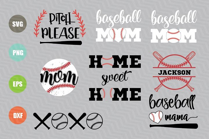 Baseball SVG Files