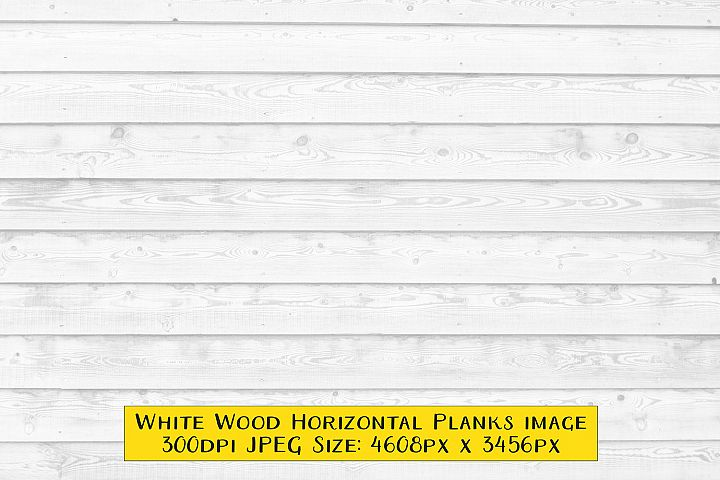 Weathered White Wood Texture Background