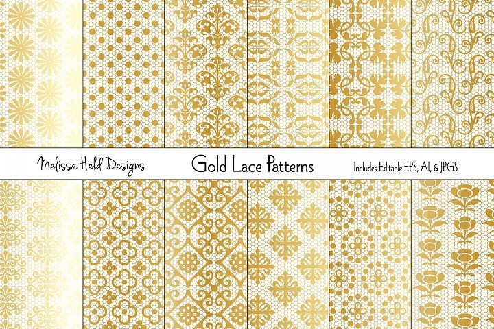 Gold Lace Patterns