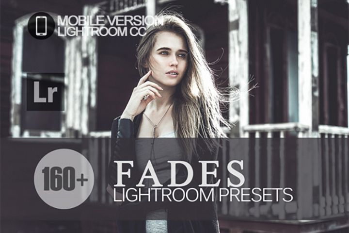 160 Fades Lightroom Mobile bundle Presets for Lightroom Mobi