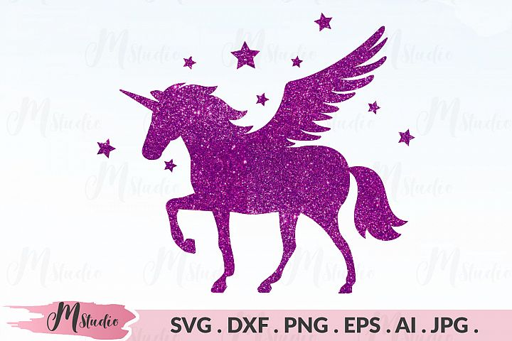 Unicorn Pegasus SVG