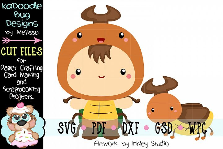 Beetle Cuties Cut File - SVG PDF DXF GSD WPC