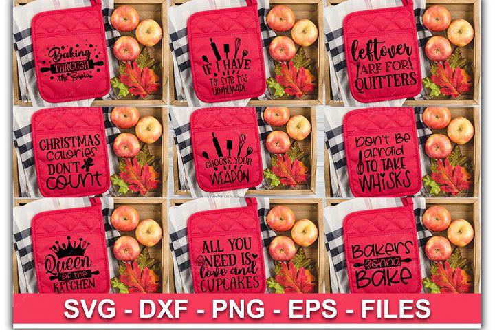 Pot Holder Bundle | Pot Holder Svg |Christmas Svg|11 Designs