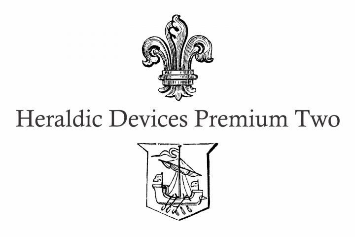 Heraldic Devices Premium (pack)  example image 5