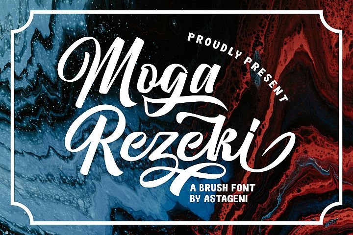 Moga Rezeki | Duo Font With Extra Swash