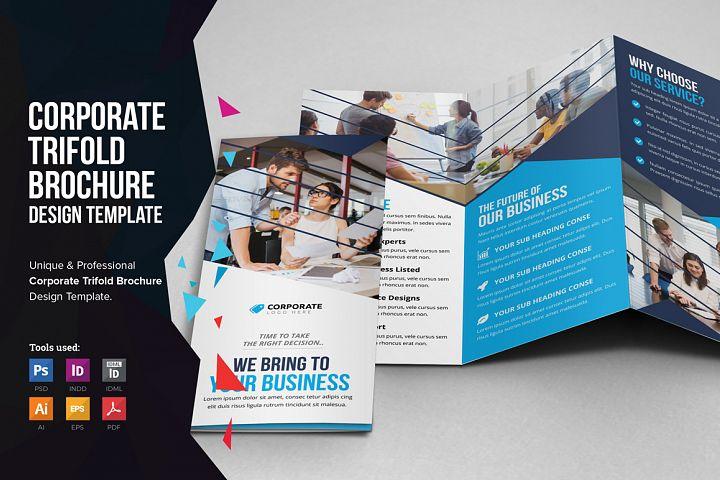 Corporate Trifold Brochure v2