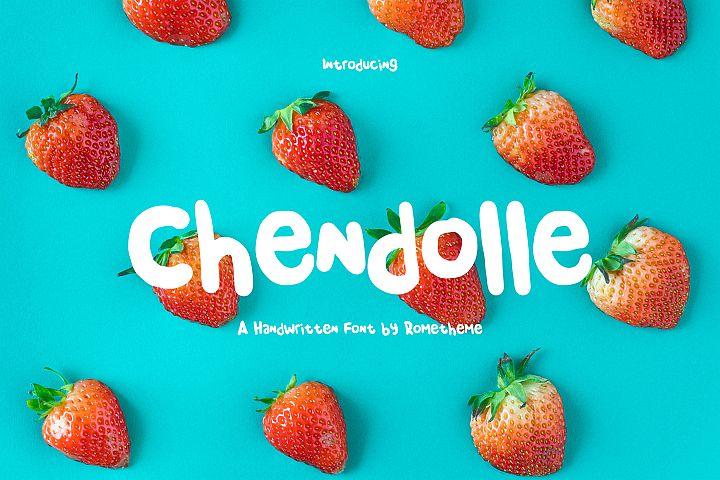 Chendolle - Fun Handwritten Font