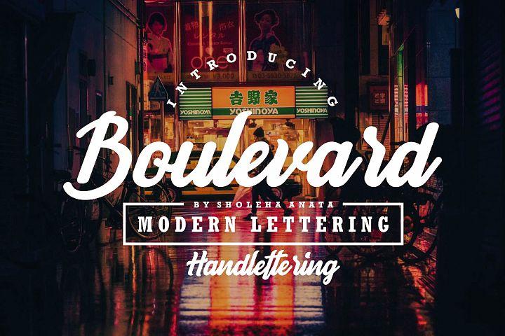 Boulevard - Modern Lettering