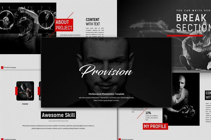 Provision Premium Presentation Keynote