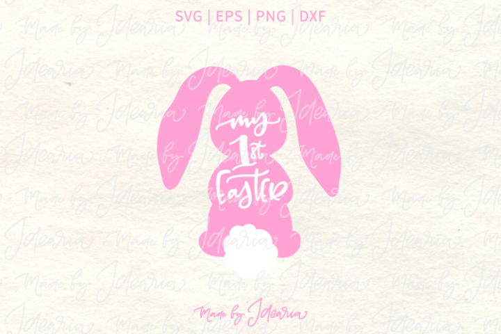 First Easter for Girl Svg Files for cute Easter Tshirt