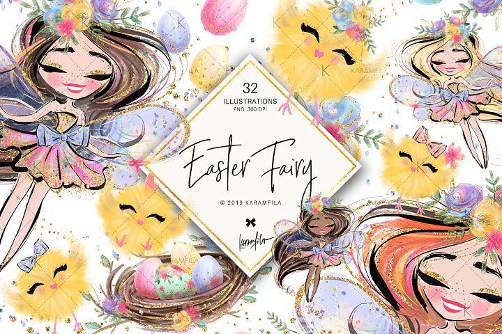 Easter Fairy Clipart