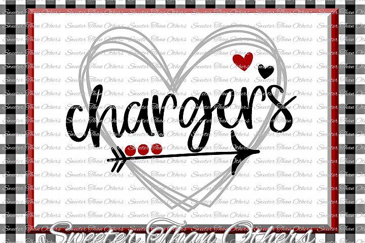 Chargers Svg, Football Charger, Baseball Charger, Basketball