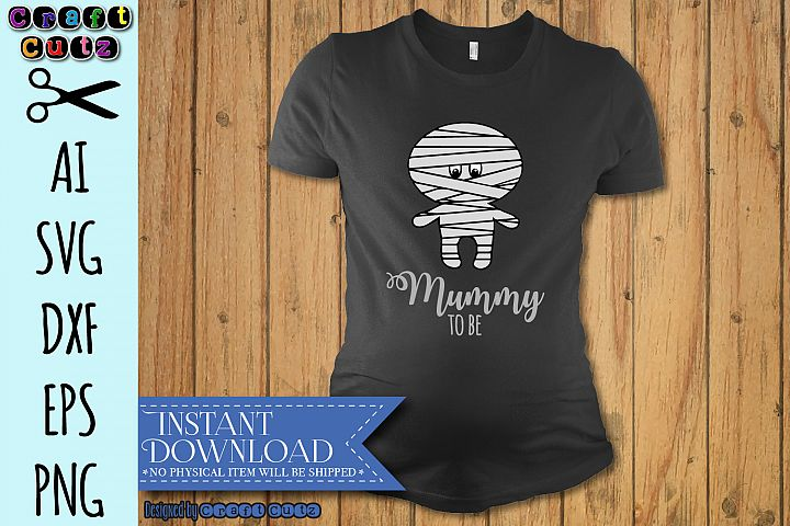 Mummy to be svg, Maternity svg, Halloween Baby Bump DXF