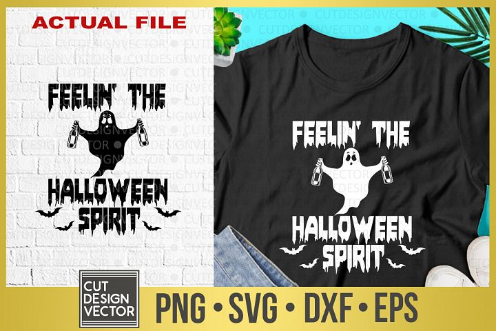 Feelin the Halloween Spirit SVG