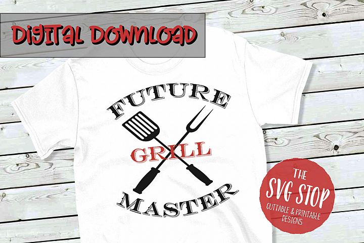 Future Grill Master - SVG, PNG, DXF