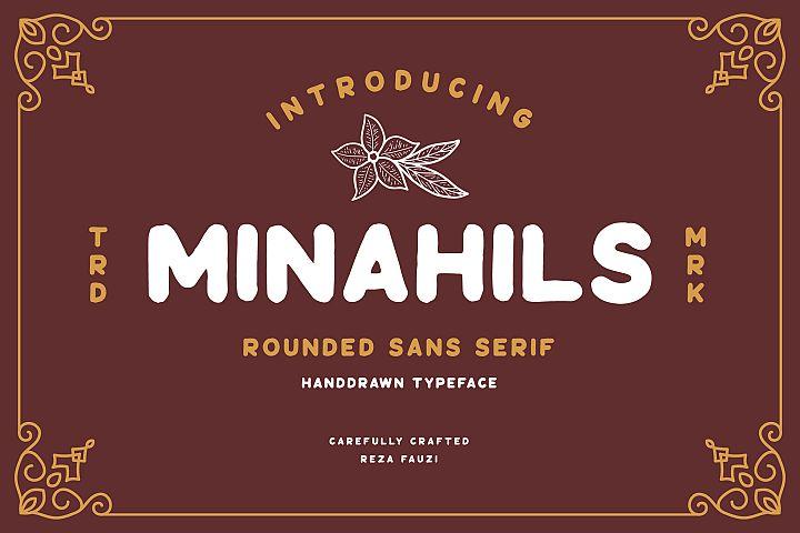 Minahils - Vintage Sans Font