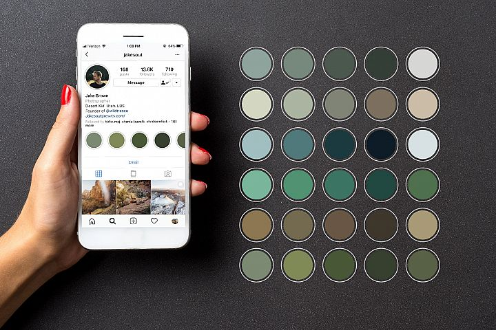 30 Forest color Instagram Story Highlights