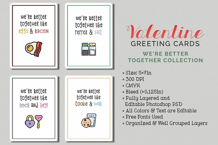 8 Valentines Day Cards