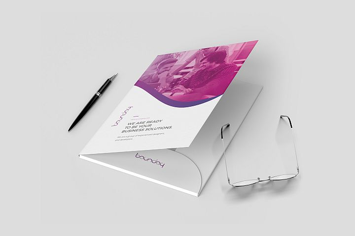 Presentation Folder Template - 02
