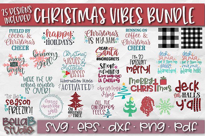 Christmas SVG Bundle, Christmas Quotes SVG-Winter SVG Bundle
