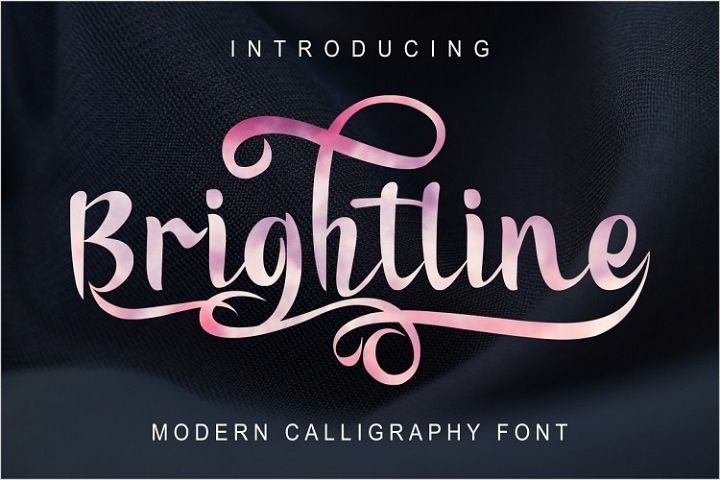 Brightline Modern Calligraphy