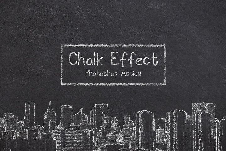 Chalk Photoshop Action