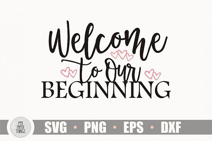 Wedding sign svg, Welcome sign svg