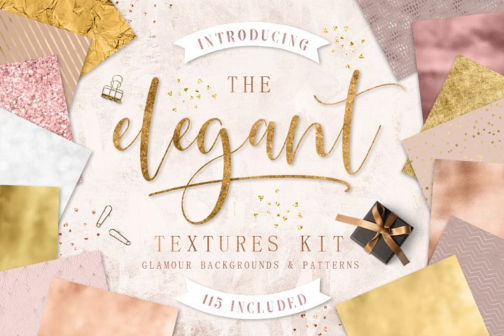 The Elegant Textures Kit