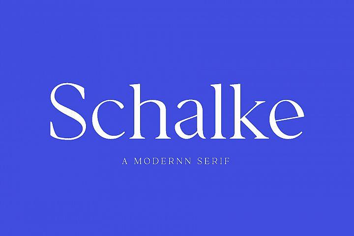Schalke - Modernn Serif