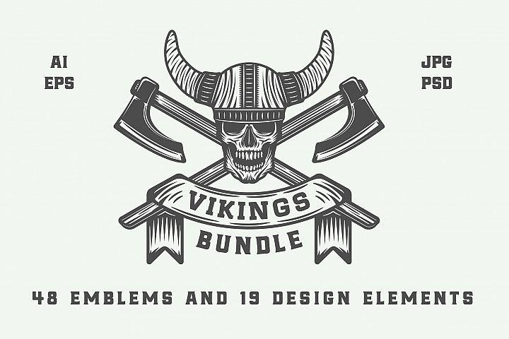 Vintage Vikings Bundle