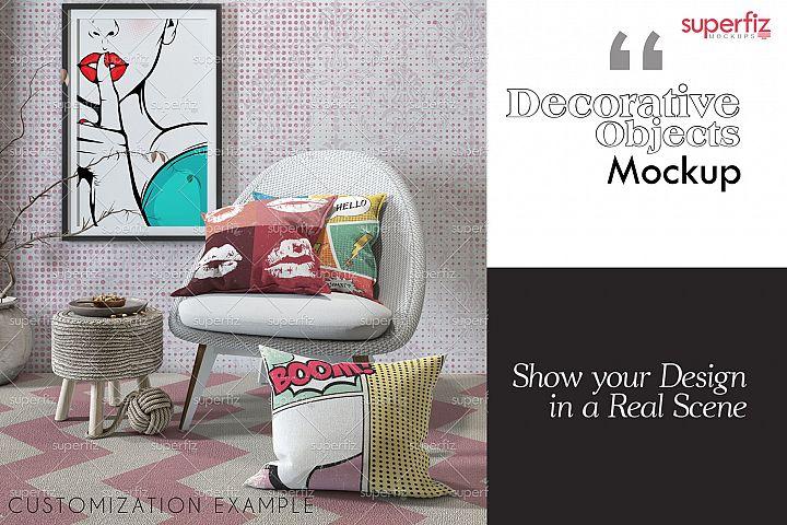Decorative Objects Mockup SM77