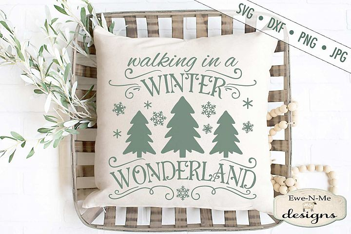 Winter Wonderland - Christmas - Snowflake - Winter - SVG
