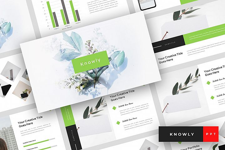 Knowly - Clean PowerPoint Template