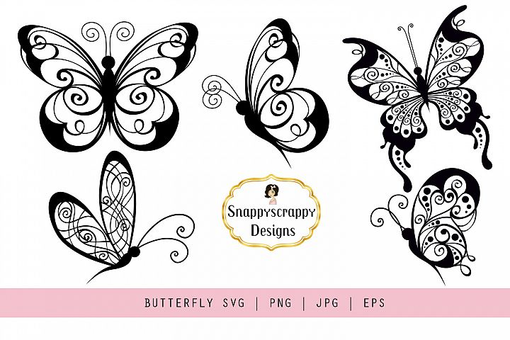Butterflies - SVG