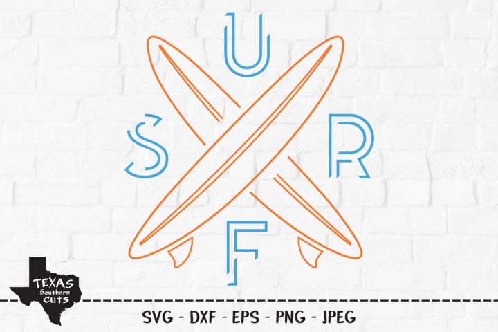 Surf SVG, Cut File, Summer Vacation Shirt Design