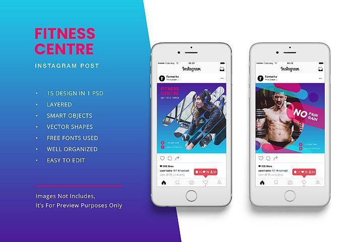 Fitness Instagram Post Banner