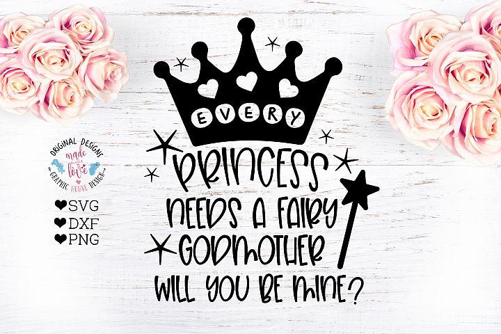 Fairy Godmother - Baptism Cut File