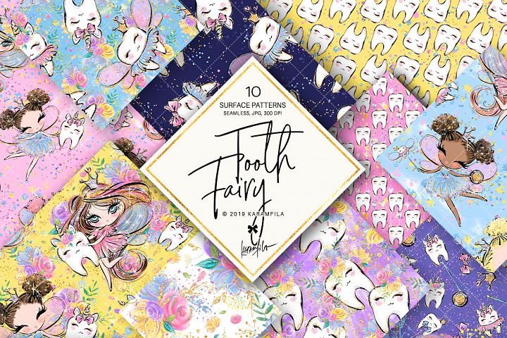 Tooth Fairy Patterns