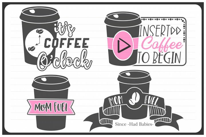 coffee svg, VOL3, mom fuel svg, coffee quote, coffee cup