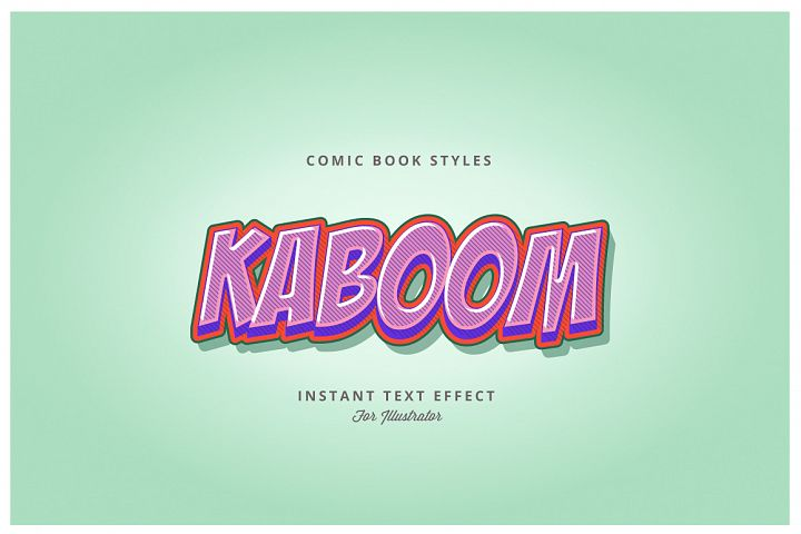 Comic and Cartoon Effects Vol.2 for Illustrator