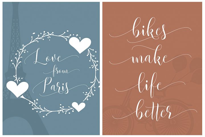 Beautylove Script - Free Font of The Week Design2
