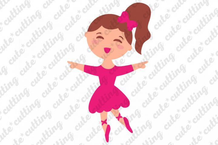 Ballerina svg, ballet dancer svg, dxf, png, pdf, jpeg