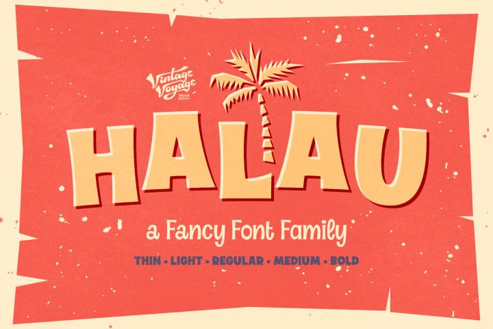 Halau Font Family