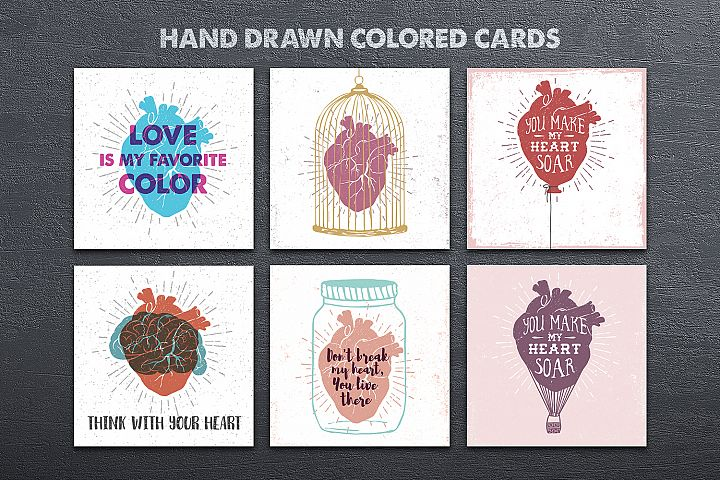 Anatomy of Love (Collection of Cards + Bonus) - Free Design of The Week Design2