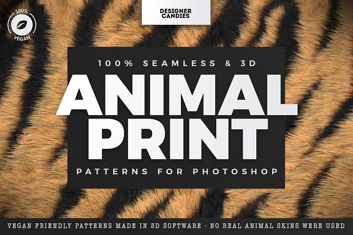 3D Animal Print Patterns