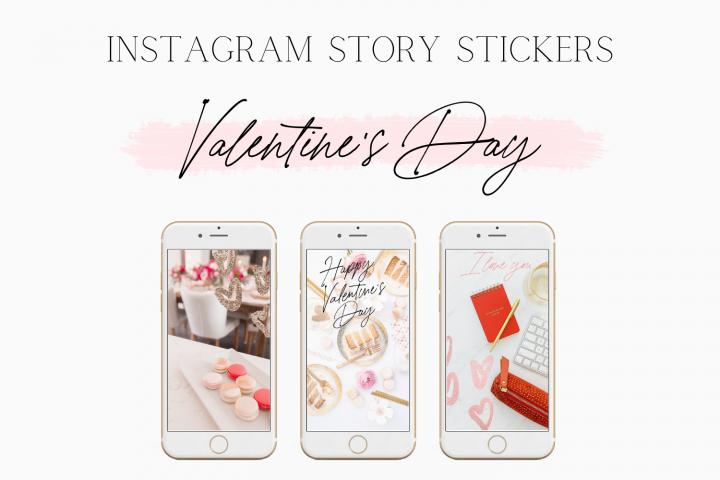 Valentines Day Instagram Stickers