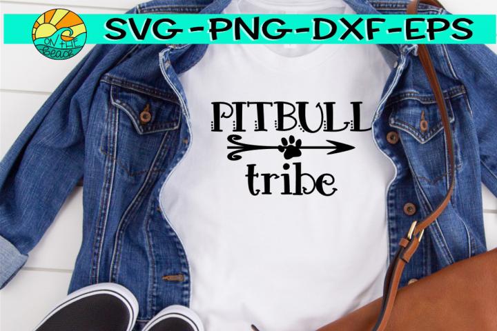 PITBULL Tribe - Arrow - SVG EPS PNG DXF