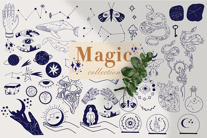 Magic mystical Collection