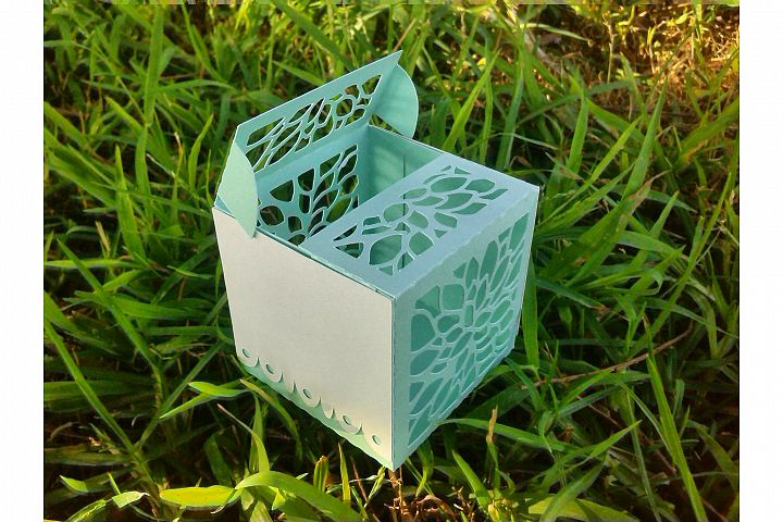 Double Flap Favour Box