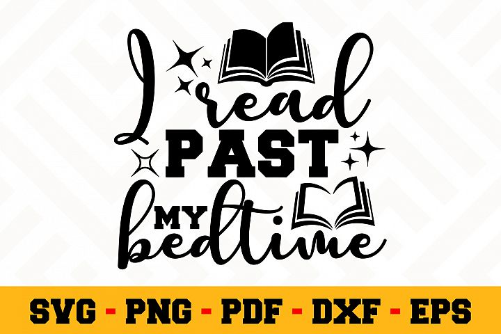 Book Lover SVG Design n623| Reading SVG Cut File